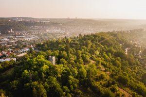 Blick über den Schlossberg ins Ammertal